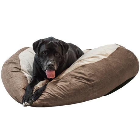 KandH Pet Self-Warming Cuddle Ball Dog Bed - Large, 48? Round