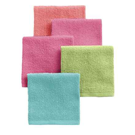 Kane Home Bar Mop Dishcloths - Set of 5 in Brights - Closeouts