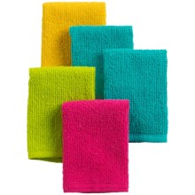 Kane Home Bar Mop Dishcloths - Set of 5 in Summer Brights - Closeouts