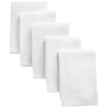 Kane Home Bar Mop Dishcloths - Set of 5 in White - Closeouts