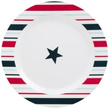 "Kane Home Dinner Plate - Melamine, 11"" in Stars & Stripes - Closeouts"