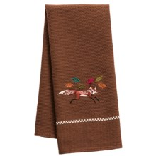 Kane Home Fall Forest Dish Towel in Fiona The Fox - Closeouts