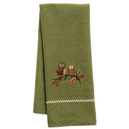 Kane Home Fall Forest Dish Towel in Ollie & Olivia Owl - Closeouts