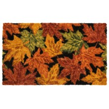 "Kane Home Fall Holiday Coir Doormat - 16x27"" in Autumn Leaves - Closeouts"