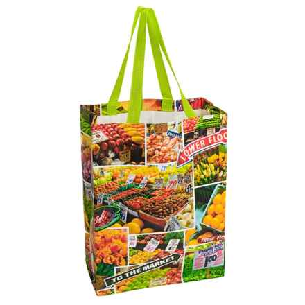 Kane Home Farmers Market Reusable Tote Bag in See Photo - Closeouts