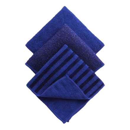 Kane Home Microfiber Dish Cloths - Set of 3 in Ultramarine - Closeouts