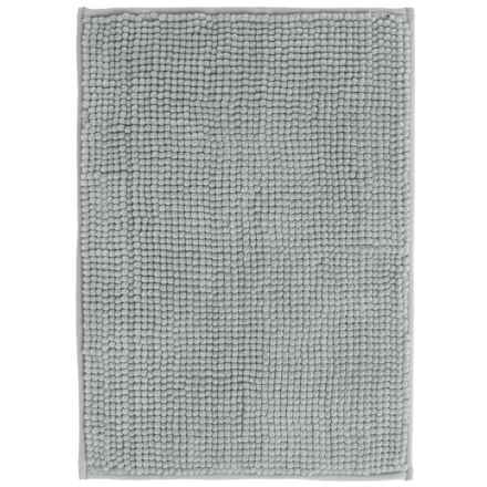 "Kane Home Microfiber Popcorn Bath Rug - 17x24"" in Grey - Closeouts"