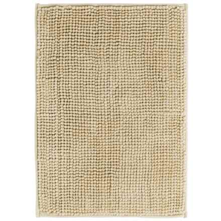 "Kane Home Microfiber Popcorn Bath Rug - 17x24"" in Natural - Closeouts"