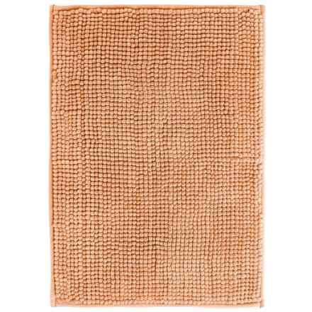 "Kane Home Microfiber Popcorn Bath Rug - 17x24"" in Orange - Closeouts"