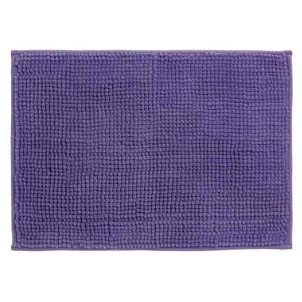 "Kane Home Microfiber Popcorn Bath Rug - 17x24"" in Purple - Closeouts"
