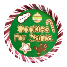 Kane Home Oh Santa Platter in Cookie Decorating - Closeouts