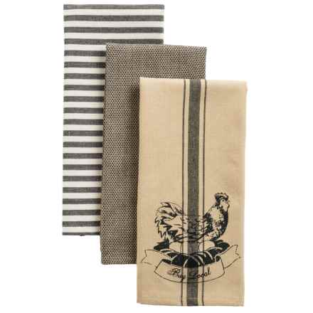 Kane Home Organic Cotton Kitchen Towels - Set of 3 in Buy Local - Closeouts