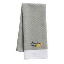 Kane Home Sweet Summertime Kitchen Towel in As Sweet As Honey - Closeouts