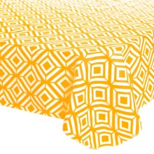 """Kane Home VINYL TABLECLOTH - 52X70"""" in Daffodill - Closeouts"""