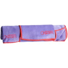 Kane Home Yoga Towel Set in Purple - Closeouts