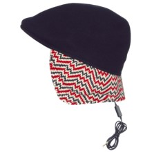 Kangol Aerial7 507 Ear Flap Hat - Wool Blend (For Men and Women) in Dark Blue - Closeouts