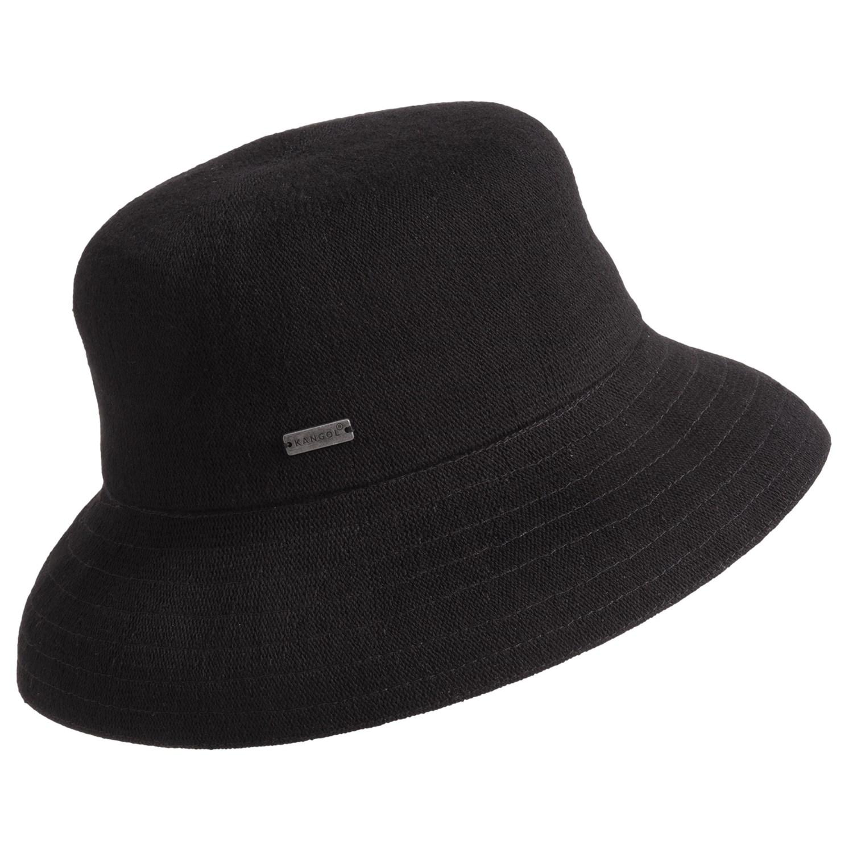 kangol hat for in black