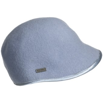 Kangol Ergo Deeto Cap - Boiled Wool (For Women) in Fog