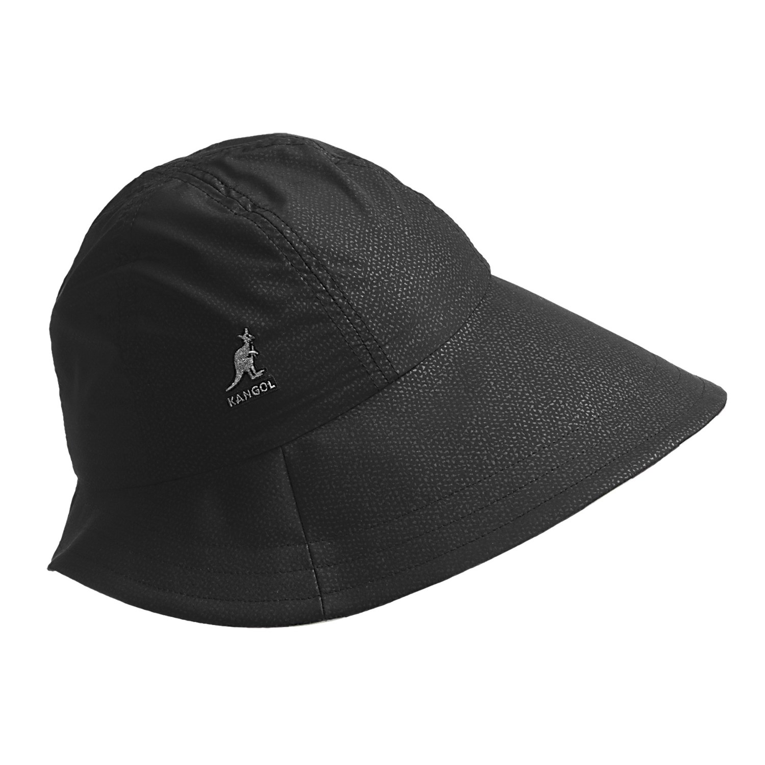 kangol golf cloche hat crushable for in black