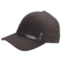 Kangol Heathered Flexfit Baseball Cap (For Men) in Brown - Closeouts