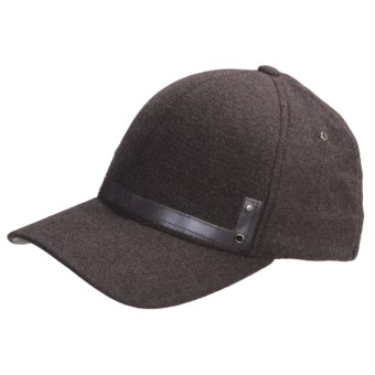 Kangol Heathered Flexfit Baseball Cap (For Men) in Brown