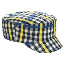 Kangol Neo Check Mau Cap (For Men and Women) in Gingham Check - Closeouts