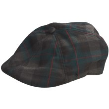 Kangol Plaid 504 Driving Cap (For Men) in Amazon Post - Closeouts