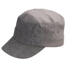 Kangol Speckled Army Cap (For Men) in Black - Closeouts