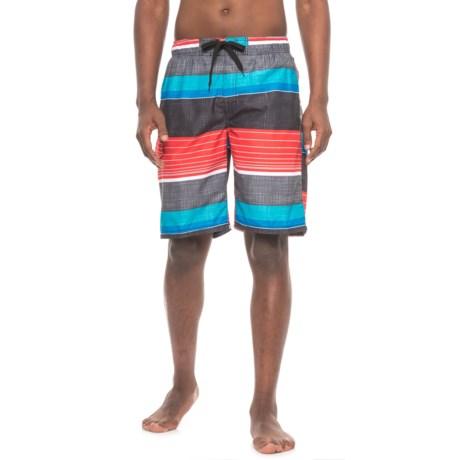 Kanu Surf BViper Boardshorts - UPF 50+ (For Men) in Black/Red