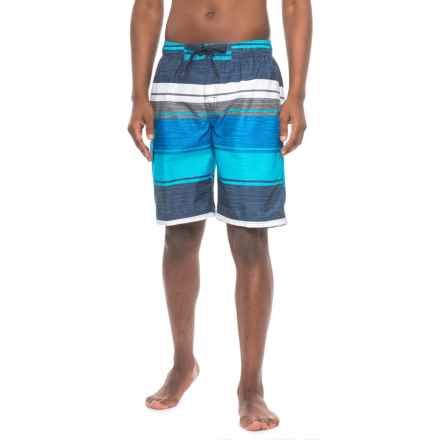 Kanu Surf Impact Swim Trunks - UPF 50+, Built-In Briefs (For Men) in Navy - Closeouts