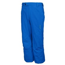 Karbon Caliper Ski Pants - Insulated (For Boys) in Blue - Closeouts