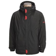 Karbon Command Jacket - Waterproof, Insulated (For Men) in Black - Closeouts