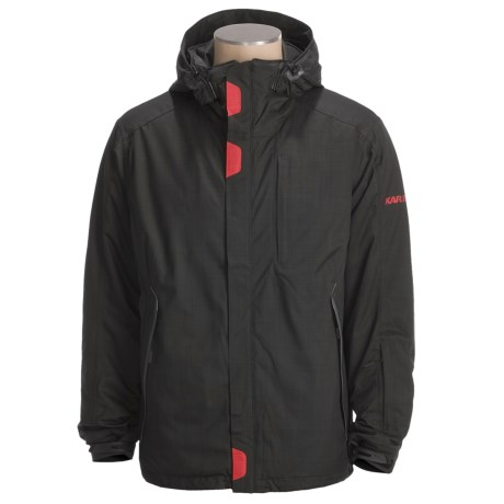 Karbon Command Jacket - Waterproof, Insulated (For Men) in Black