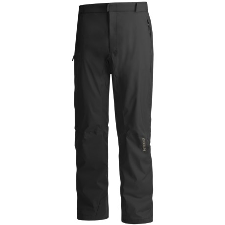 Karbon Dial Ski Pants - Waterproof, Insulated (For Men) in Black
