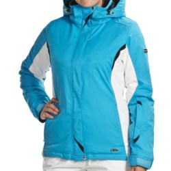 Karbon Emerald Jacket - Waterproof, Insulated (For Women) in Black