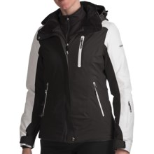 Karbon Opal Ski Jacket - Waterproof, Insulated (For Women) in Black/Arctic White - Closeouts