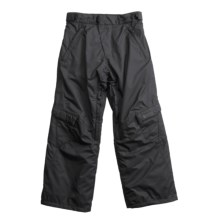 Karbon Palmer Snow Pants - Insulated (For Boys) in Black - Closeouts