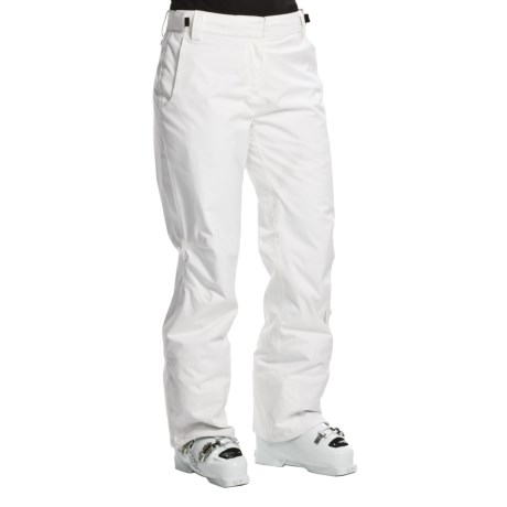 Karbon Pearl Snow Pants - Waterproof, Insulated (For Women) in Artic White