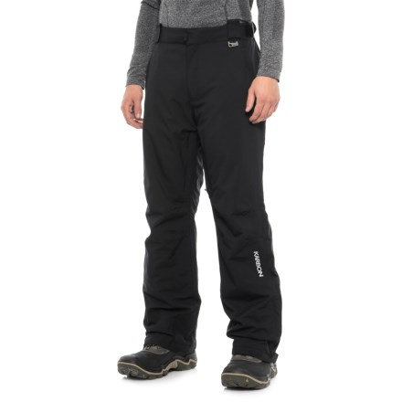 d4f3c54a859da Karbon Planet Ski Pants - Waterproof, Insulated (For Men) in Black -  Closeouts