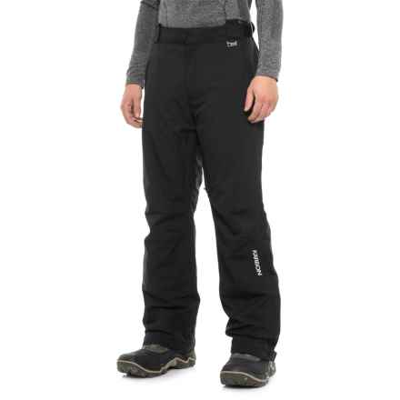 Karbon Planet Ski Pants - Waterproof, Insulated (For Men) in Black - Closeouts