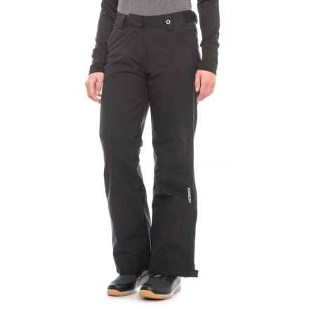 Karbon Rainbow Ski Pants - Insulated (For Women) in Black - Closeouts