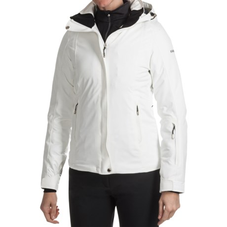 Karbon Ruby Ski Jacket - Waterproof, Insulated (For Women) in Arctic White