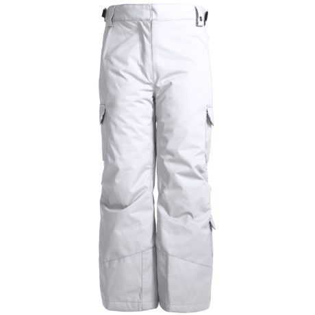 Karbon Sierra Snow Pants - Insulated (For Girls) in Arctic White