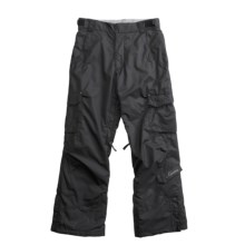 Karbon Sierra Snow Pants - Insulated (For Girls) in Black - Closeouts