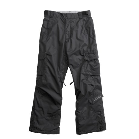 Karbon Sierra Snow Pants - Insulated (For Girls) in Black