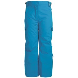Karbon Sierra Snow Pants - Insulated (For Girls) in Electric Blue