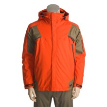 Karbon Stealth Ski Jacket - Waterproof, Insulated (For Men) in Flame/Cement - Closeouts