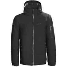 Karbon Thor Down Ski Jacket (For Men) in Black/Black - Closeouts