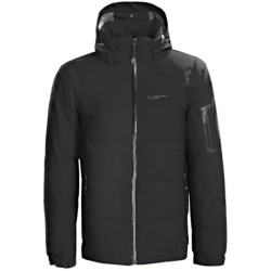 Karbon Thor Down Ski Jacket (For Men) in Black/Black