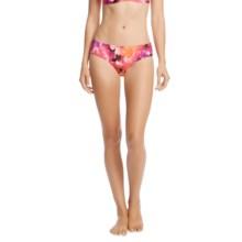 Karen Kane Montego Brief Bikini Bottoms (For Women) in Bright Poppy - Overstock